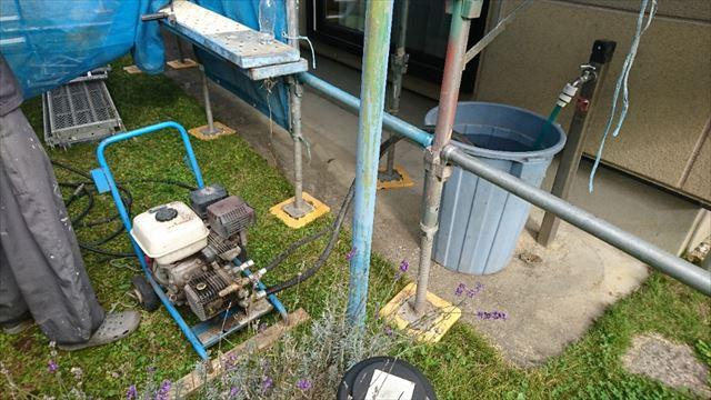 飯田市大瀬木ALC外壁塗装洗浄2