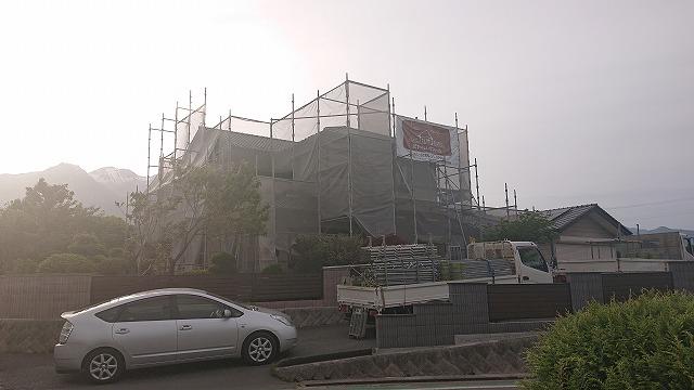 飯島町 多彩色 足場7