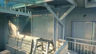 飯田市松尾外壁塗装下塗り3