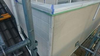 飯田市松尾外壁塗装下塗り5