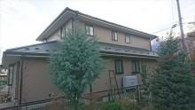 駒ヶ根市赤穂外壁ベランダ現状3