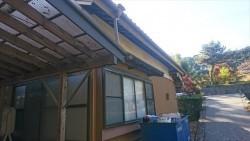 駒ヶ根市 外壁完成4