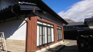 駒ヶ根市 外壁完成8
