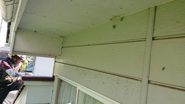 駒ケ根市下平外壁塗装洗浄5