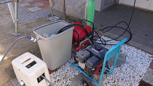 駒ケ根市コロニアル塗装洗浄1