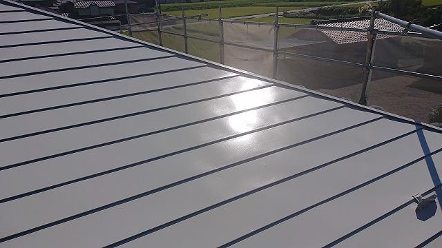駒ケ根市屋根壁遮熱洗浄4