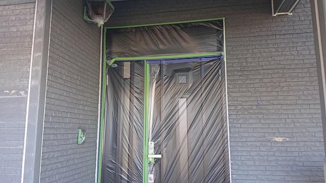駒ケ根市屋根壁遮熱養生3