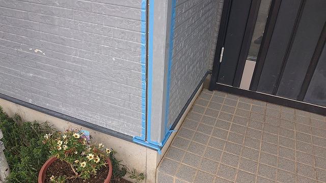 駒ケ根市屋根壁遮熱コーキング3