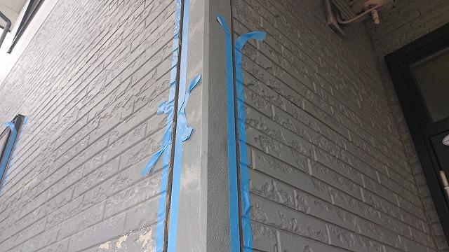 駒ケ根市屋根壁遮熱コーキング4