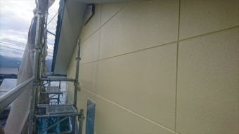 長野県駒ヶ根市赤穂 ALC外壁塗装上塗り7