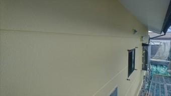 長野県駒ヶ根市赤穂 ALC外壁塗装上塗り3