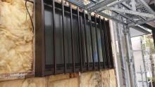 長野県宮田村パナホーム外壁雨漏れはがし1