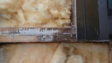 長野県宮田村パナホーム外壁雨漏れはがし2