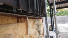 長野県宮田村パナホーム外壁雨漏れはがし3