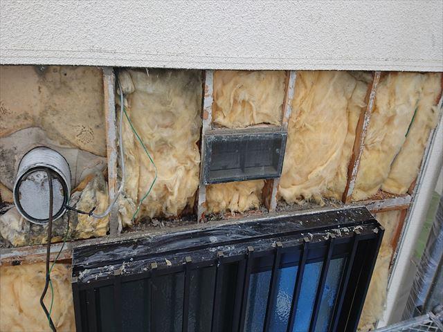 長野県宮田村パナホーム外壁雨漏れはがし4