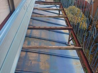 長野県駒ケ根市トタン屋根塗装洗浄3