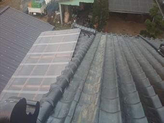 長野県飯島町鬼落下棟撤去17