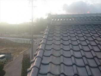 長野県飯島町鬼落下棟撤去18