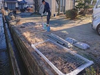 長野県飯田市松尾フェンス2