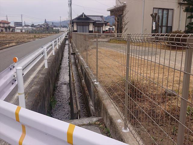 長野県飯田市松尾フェンス11