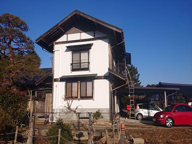 長野県下條村トタン屋根現状3