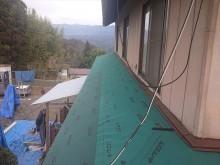 下條村下屋根張替え14