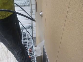 下條村外壁トタン屋根塗装洗浄1