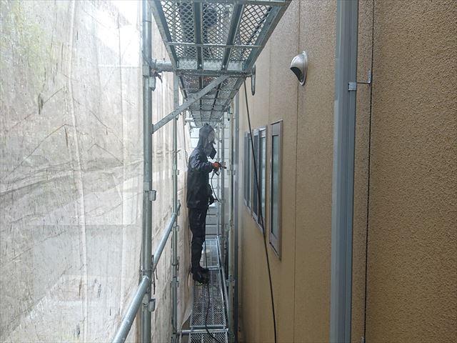 下條村外壁トタン屋根塗装洗浄3