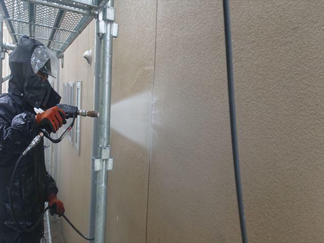 下條村外壁トタン屋根塗装洗浄4