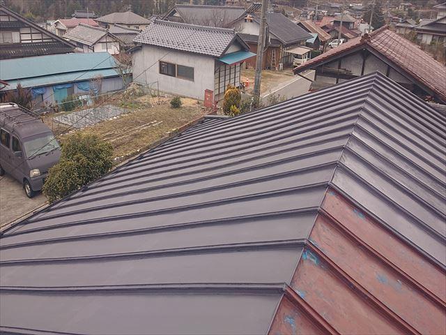 大瀬木トタン屋根下塗り5
