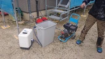 飯田市駄科トタン屋根外壁洗浄2