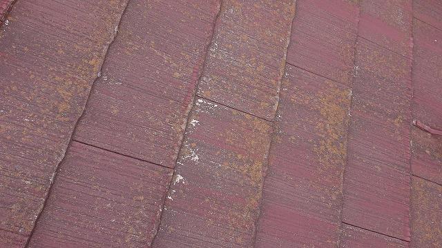 飯田市時又コロニアル屋根塗装現調2