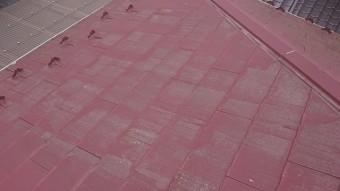 飯田市時又コロニアル屋根塗装現調3