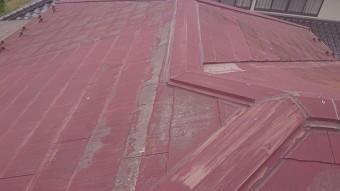 飯田市時又コロニアル屋根塗装現調4