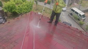 飯田市時又コロニアル屋根塗装6
