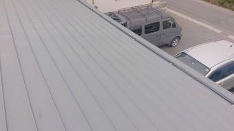 飯田市大瀬木倉庫屋根遮熱現状4