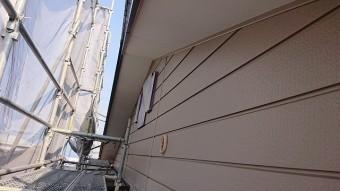 飯田市北方屋根外壁塗装 養生2