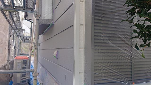飯田市北方屋根外壁塗装 養生3
