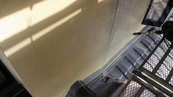 飯田市北方モルタル外壁洗浄4