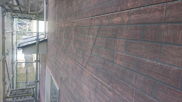 飯田市北方外壁塗養生1