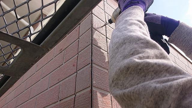 外壁塗装補修作業