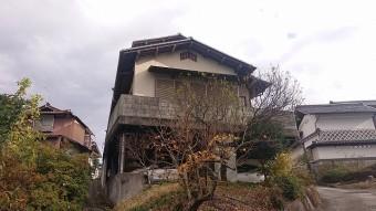 飯田市下久堅外壁塗装現調3