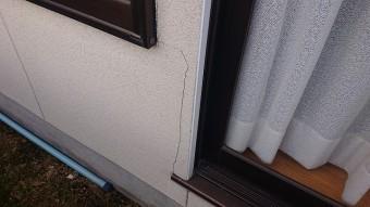 飯田市下久堅外壁塗装現調4