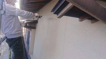飯田市下久堅外壁塗装洗浄3