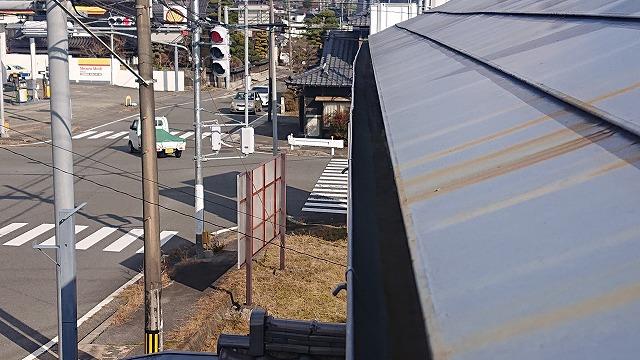 松川町屋根外壁雨樋交換現調1