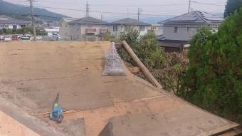 飯田市北方屋根葺き替えコンパネ貼り7