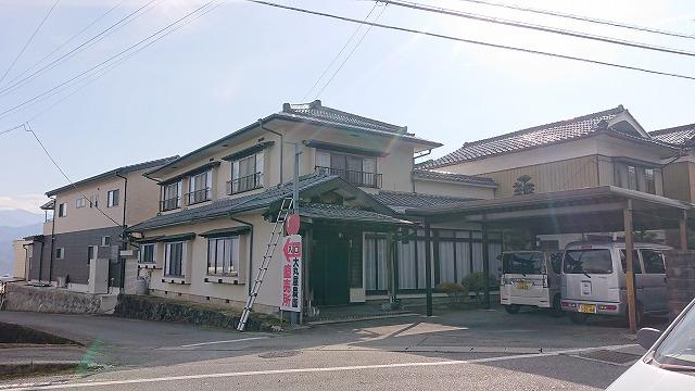 松川町屋根外壁雨樋交換現調5