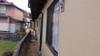 飯田市下久堅 和風住宅外壁塗装完成7