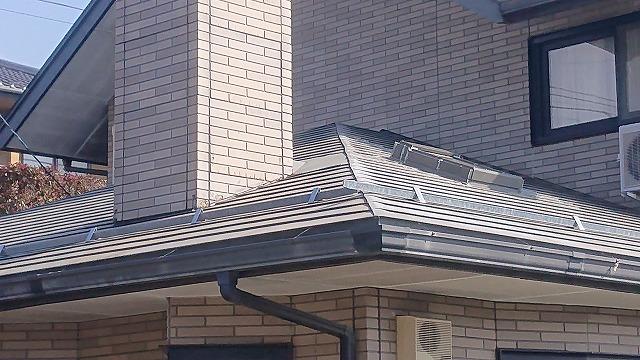 下伊那郡松川町 天窓雨漏れ 補修工事と塗装工事 を行います。現地調査を行いました。