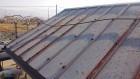 松川町トタン屋根洗浄5